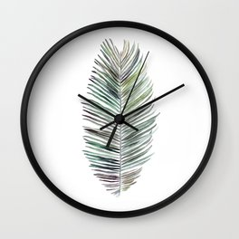 Cocos Nucifera Wall Clock