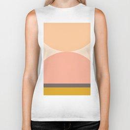 Abstraction_Mountains_Balance_ART_Landscape_Minimalism_001 Biker Tank