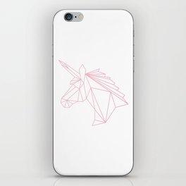 Unicorn Pink iPhone Skin