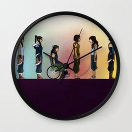 Korra's Journey Wall Clock