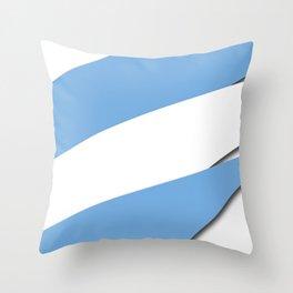 Team Argentina #russia #football #worldcup #soccer #fan Throw Pillow