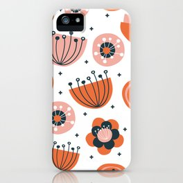 mod flower wallpaper iPhone Case