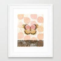 polka Framed Art Prints featuring Polka by Ashley Sta. Teresa