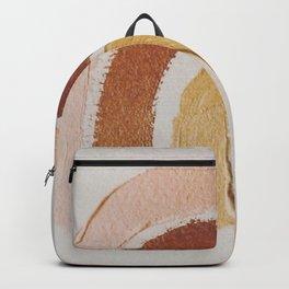 Vintage rainbow painting Backpack