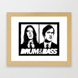 Nirvana DNB Framed Art Print