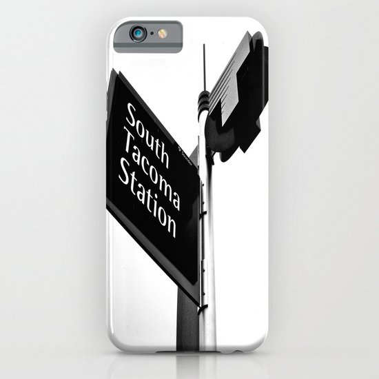 South Tacoma Station iPhone & iPod Case