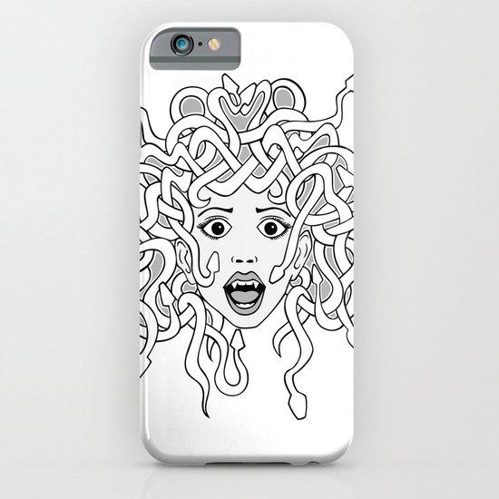 foolish medusa (b&w) iPhone & iPod Case