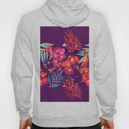 flower party Hoody