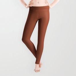 Cinnamon Stick Pantone Solid Color Leggings