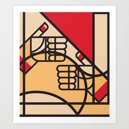 Remember Germany - 5/7 Art Print