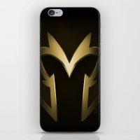 magneto iPhone & iPod Skins featuring Magneto Deco by Sara Machajewski