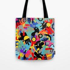Color blobs 002 Tote Bag