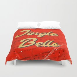 Jingle Bells #1 - A Hell Songbook Edition Duvet Cover