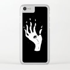 Witch's Hand Clear iPhone Case