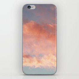 Pink and Blue Sky Over Newport Rhode Island iPhone Skin