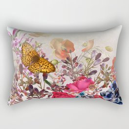 Meadow flowers. Shiny happy morning Rectangular Pillow