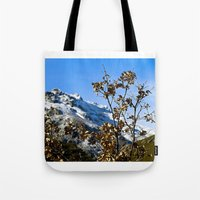 spain Tote Bags featuring Sanábria, Spain by Elias Silva Photography