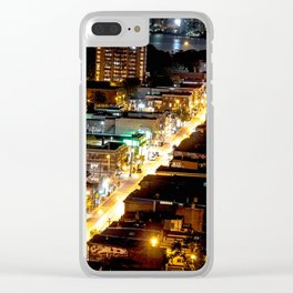 Queen West Streets Clear iPhone Case