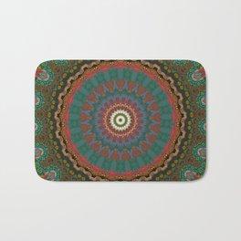 Basal Color Mandala 12 Bath Mat