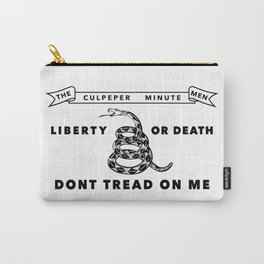 Culpeper Minutemen Flag - Authentic High Quality Carry-All Pouch