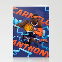 nba Stationery Cards featuring NBA Stars: Carmelo Anthony by Akyanyme