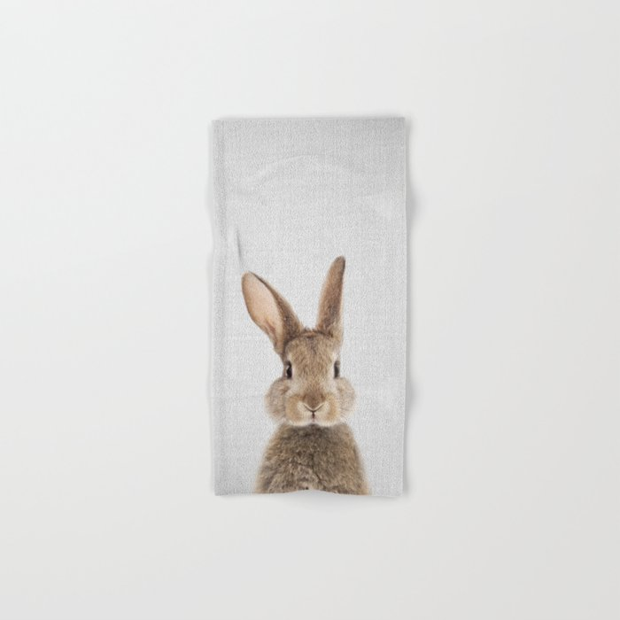 Rabbit - Colorful Hand & Bath Towel