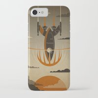 iPhone Cases featuring The Return by Danny Haas