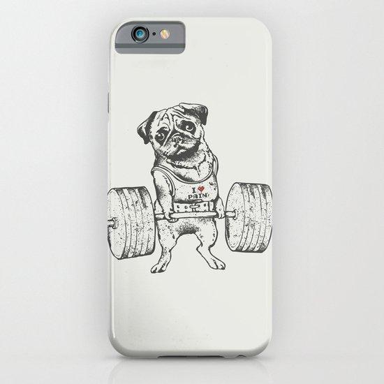 Pug Lift iPhone & iPod Case