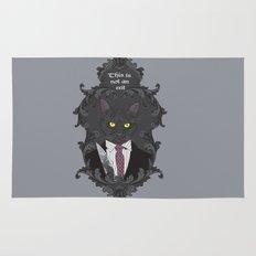 American Psycho Kitty Rug
