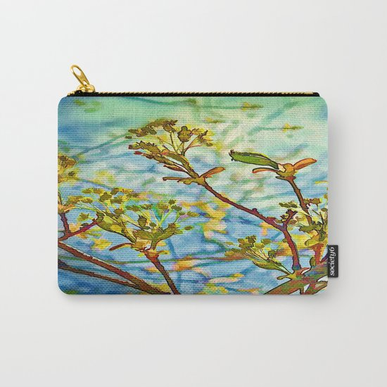 Budding Branches Carry-All Pouch