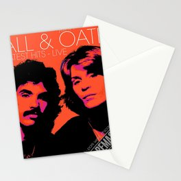 HALL OATES GREATEST HITS LIVE TOUR DATES 2019 BAKSO Stationery Cards