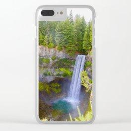brandywine falls, 2017 Clear iPhone Case