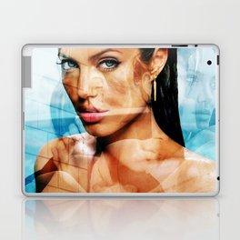 faces of Angelina Jolie2 Laptop & iPad Skin
