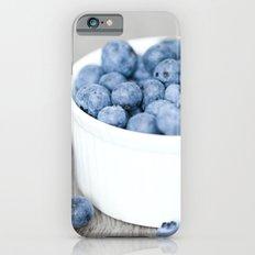 Blueberries iPhone 6s Slim Case