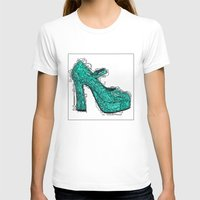 shoe T-shirts featuring Shoe 2 by AstridJN