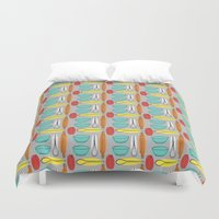 baking Duvet Covers featuring Baking Pattern by Britt Clifton