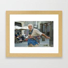 Neapolitan shakespeare Framed Art Print