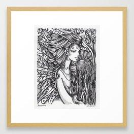 Sunshine Fairy Framed Art Print