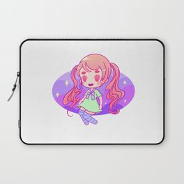 Pigtails chibi bby Laptop Sleeve