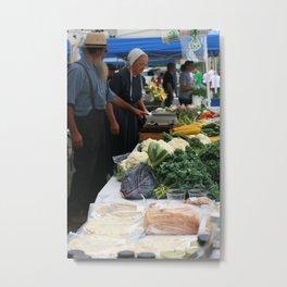 Farmers' Market 2 Metal Print