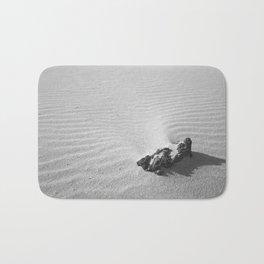 Stone in the Sand Bath Mat