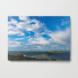 Peaceful Sea Metal Print