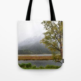 Season's First Snow II Tote Bag