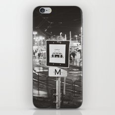 bus stop iPhone & iPod Skin