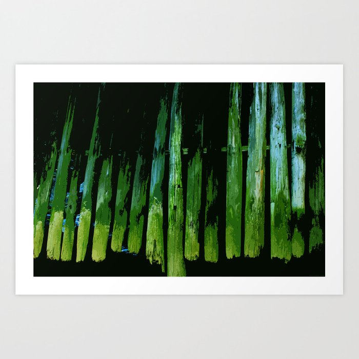 """Fenced"" Art Print"