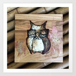 owlie cute Art Print