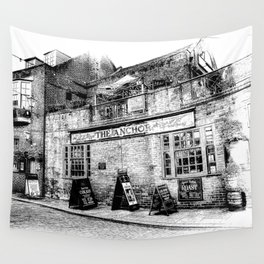 The Anchor Pub London Art Wall Tapestry