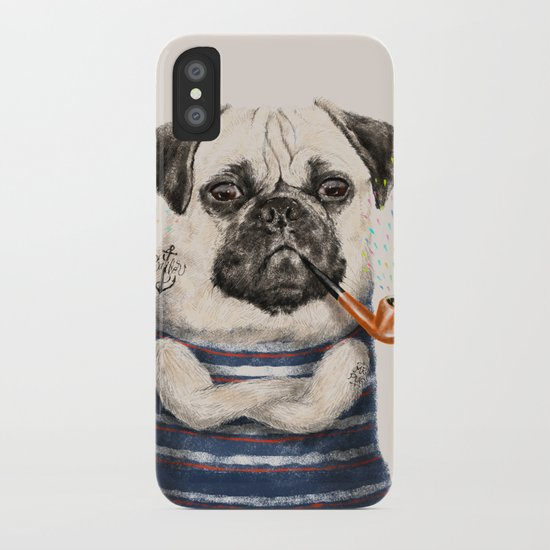 Mr.Pug iPhone Case