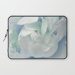 Peony in Blue White Laptop Sleeve