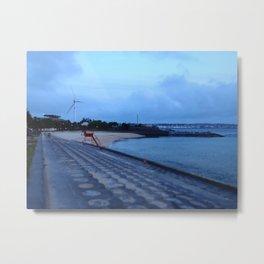 Sunset Beach, Okinawa Metal Print